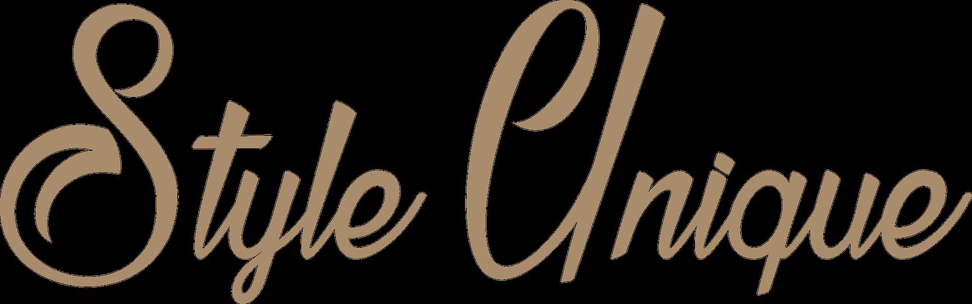 Logo Style Unique : Agence de relooking et conseil en image