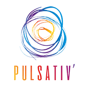 Logo Pulsativ : Collectif de freelances à Toulouse