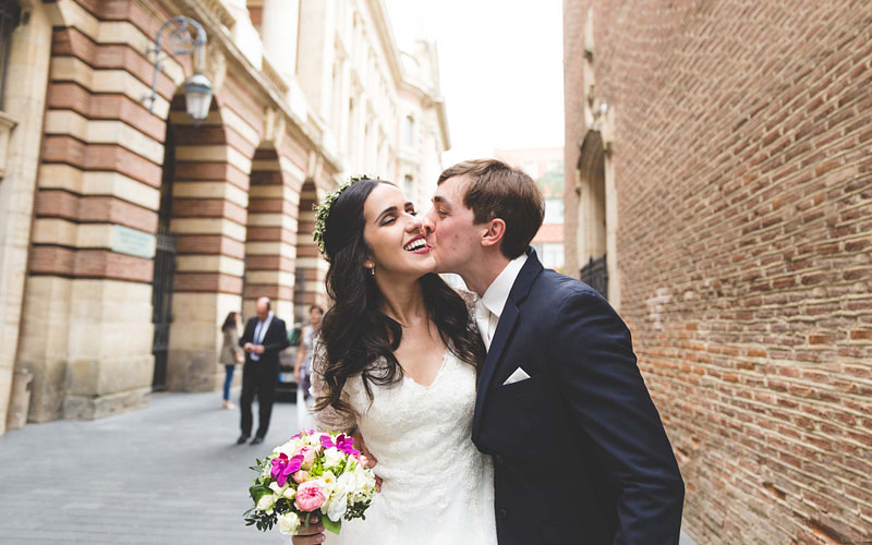 Photographe mariage Toulouse Capitole