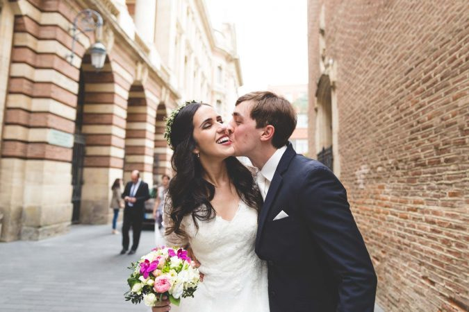 Photographe mariage Toulouse Capitole